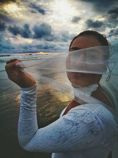 Sunset Outdoors Beach Reflection One Person Sand Adult Cloud - Sky Sky Bridge Actress Camera, Lights, Action ShortFilm Water Sea And Sky Sea Light Costa Rica Celular HuaweiP9 Beach Photography Beach Playa Bandera Puntarenas