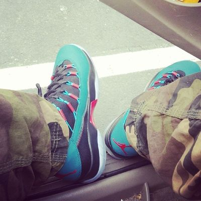 Im rockin out wit these today Thawayt Waytlessthoughts Jordans