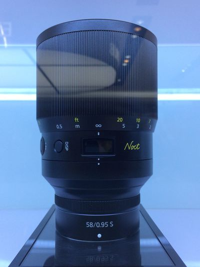 Nikon 58 f/0.95 NOCT Technology Communication Indoors  No People Close-up Healthcare And Medicine Connection Lens - Optical Instrument Equipment