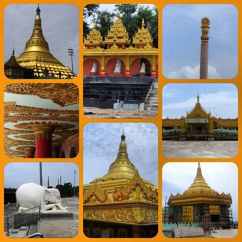 Glimpses of Global Vipassana Pagoda Buddha Gorai Sharnam .