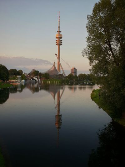 TV Tower Tvtower Tv Sea Lake Lake View Lakeside Lakeview Lake District Mirror Mirror Reflection City Politics And Government Water Tree Reflection Tower Sky Architecture Travel Monument Icon Lake Lakeside Lakeshore History Civilization