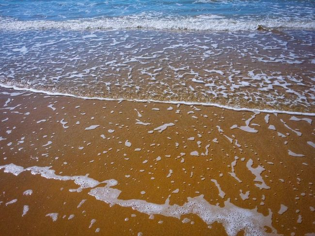 Sand Beach Patterns Punta Braccetto Ragusa Sicily Italy Travel Photography Travel Voyage Traveling Mobile Photography Fine Art Nature Sand Sea Waves Low Tide Golden LightReflections And Shadows Mobile Editing