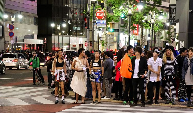 Halloween Tokyo Street Happy Halloween! Halloween Costumes Halloween EyeEm Street Photography EyeEm Best Edits Tokyo Halloween From My Point Of View Tokyo Night