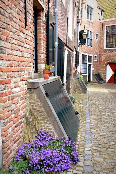 Middelburg Hometown Ancient Old Buildings Old Streets Dutch Landscape My Beautiful Hometown