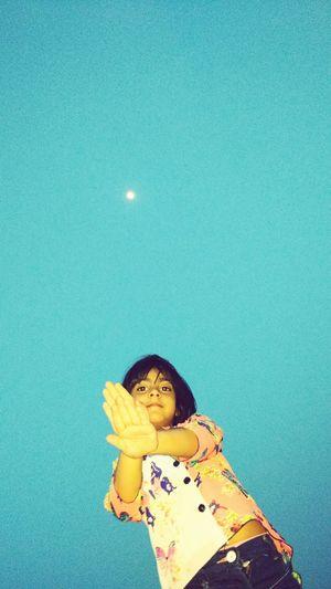 Moon Manya Sky And Clouds SACHIN Tarace _view India Kolkatadiaries Hawrah
