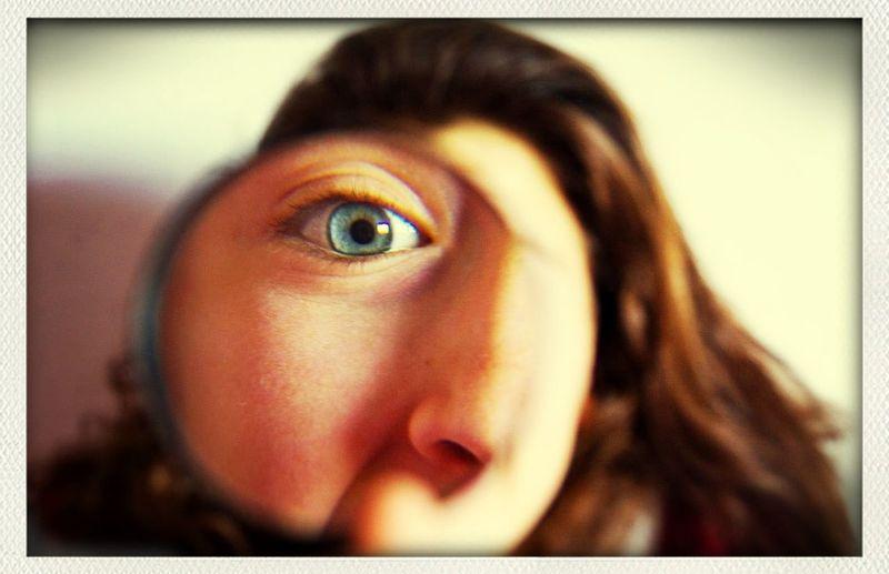 Girl Blue Eyes