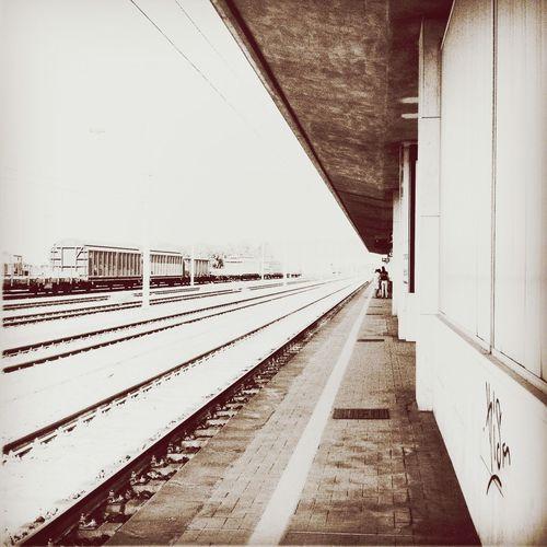 Traveling Trainspotting Beautymess Monochrome