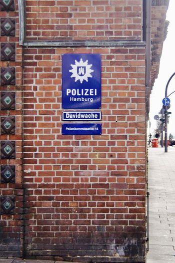Sankt Pauli Davidwache Hamburg