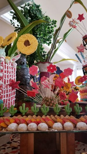 Sweets Cake Cakes! Flower Plant Flowering Plant Decoration Freshness No People Representation Indoors  Nature Animal Art And Craft Close-up Creativity Multi Colored Celebration Animal Themes Day Flower Head Mexico