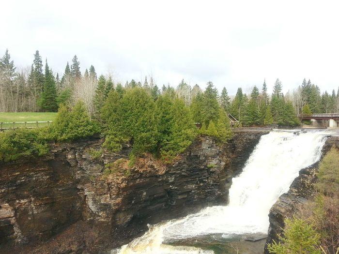 Kakabeka Falls // Kakabeka, Ontario Waterfall Kakabeka Falls