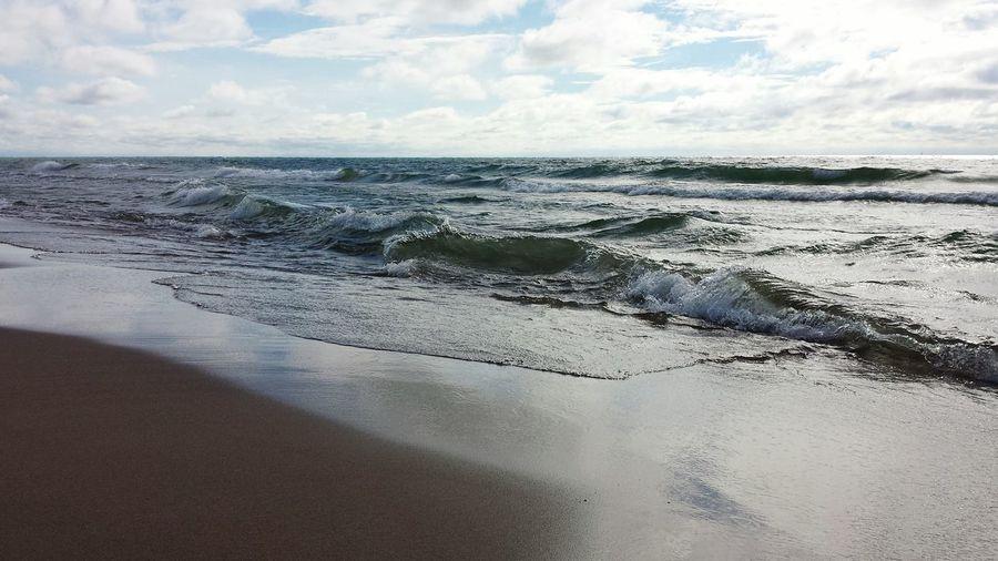 St. Joseph, Michigan Lake Michigan Beach Beauty Outdoors