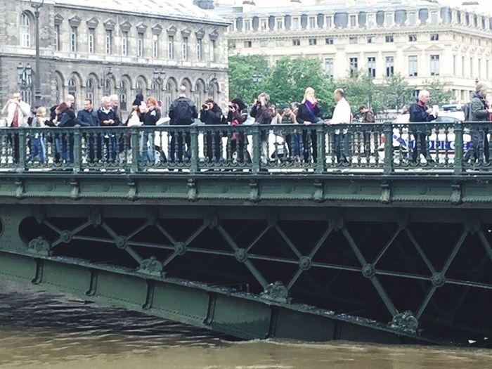 Paris 's Flood Flooding Tourist Tourists Curiosity Flood The Seine Seine River Floods ❤ Floods. Floods Crue Paris Inondation Paris, France  Inondations Crue2016 Life Seine