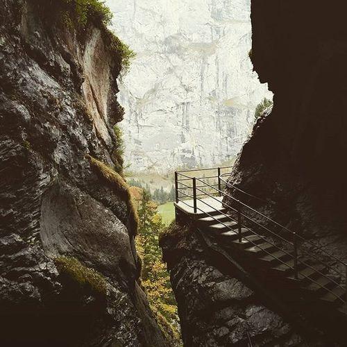 Trummelbach Falls Lauterbrunnen Valley Trummelbachfalls Trummelbach Switzerland Naturegeography