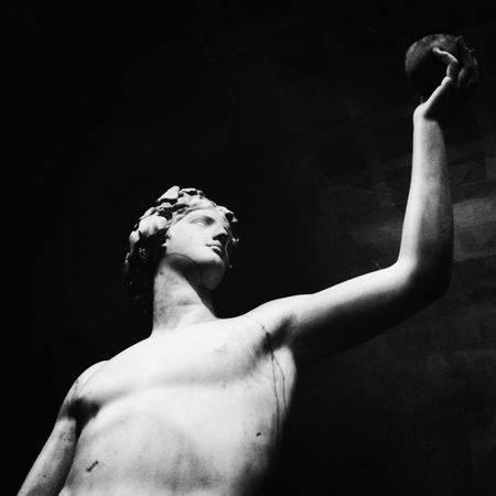 Blackandwhite Dionysus Greece Antiquity