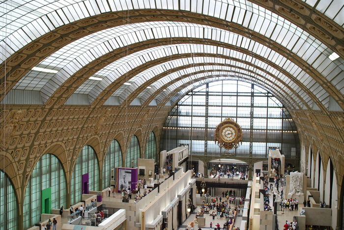 Crowd Curation Gold Impressionism Musee Musée D'Orsay