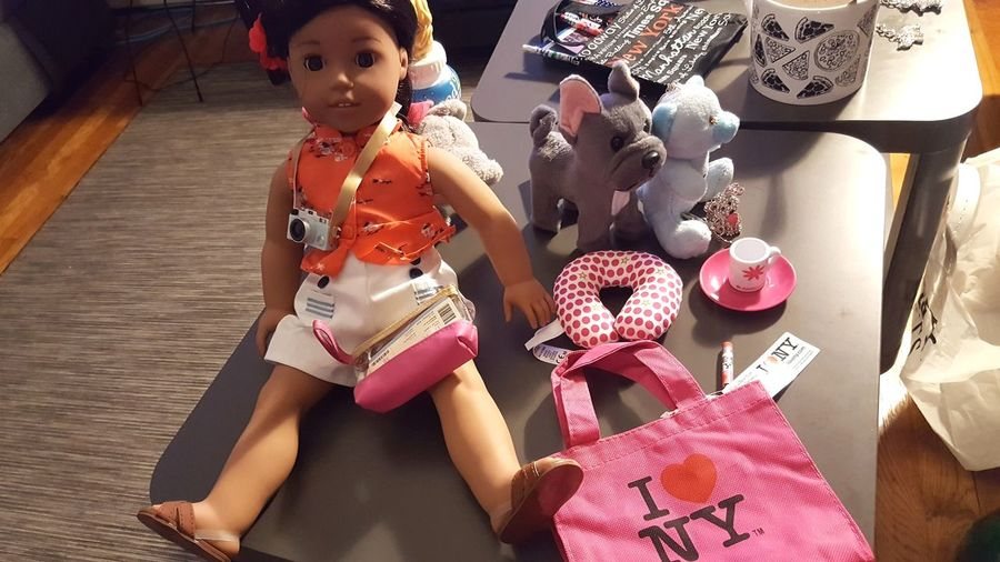 A Doll and friends Accessory Doll Toy American Girls Shopping ♡ Kids New York City EyeEm Selects