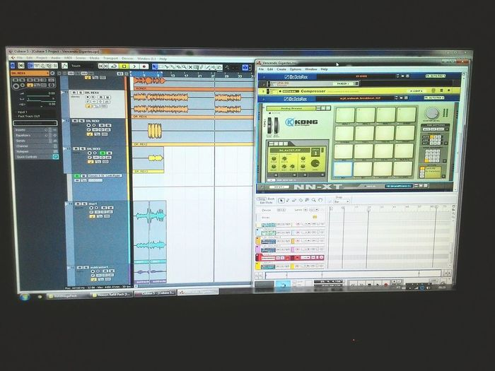 Dormir pra quê? Cubase PropellerheadReason Audio Technology Communication Pixelated