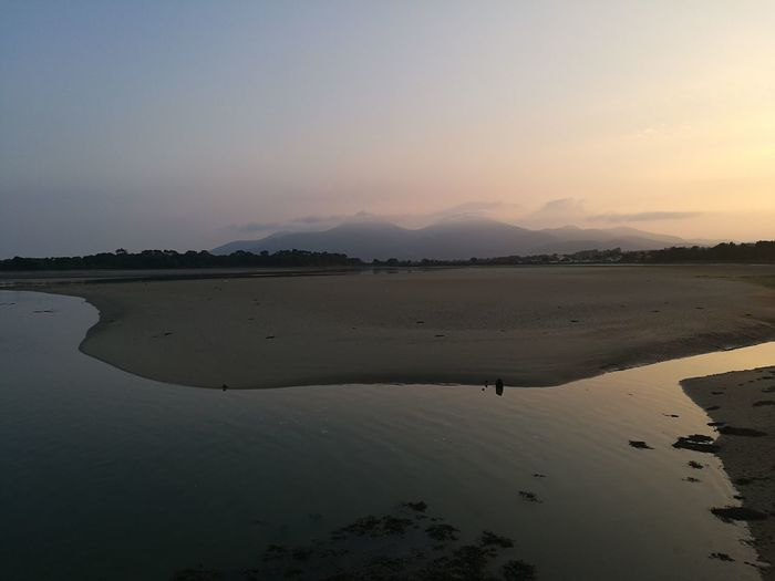 Dundrum Ireland Down Home Dundrumbay Water Sunset Lake Salt - Mineral Mountain Sun Reflection Flamingo City Sky Sand Dune Low Tide Shore Tide Coast Surf Sand