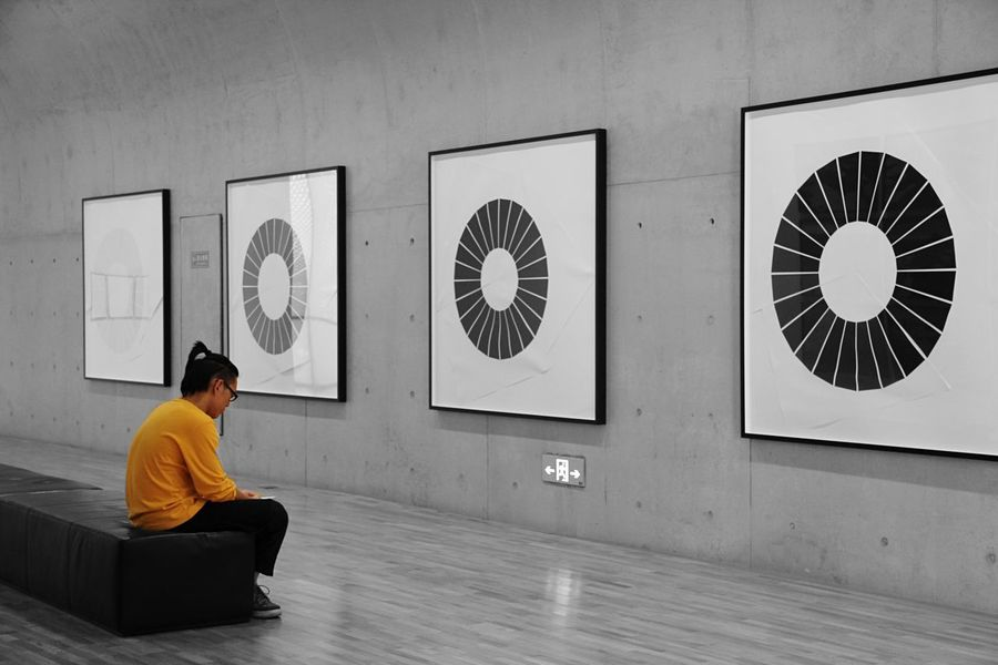43 Golden Moments The Mix Up Photography Exhibition Art Shanghai People EyeEm Best Shots Olafur Eliasson Alone Monochrome