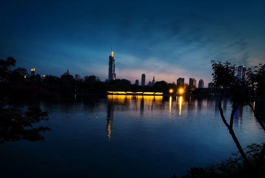 Night Lake 黄昏