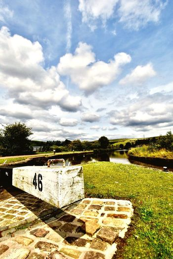 Canal Locks Littlebrough Rochdale Canal Lock Littlebrough Rochdale Rochdale Canal Cloud - Sky Industry Summmer Walks Blue Sky North West England Waterway Canal Lock