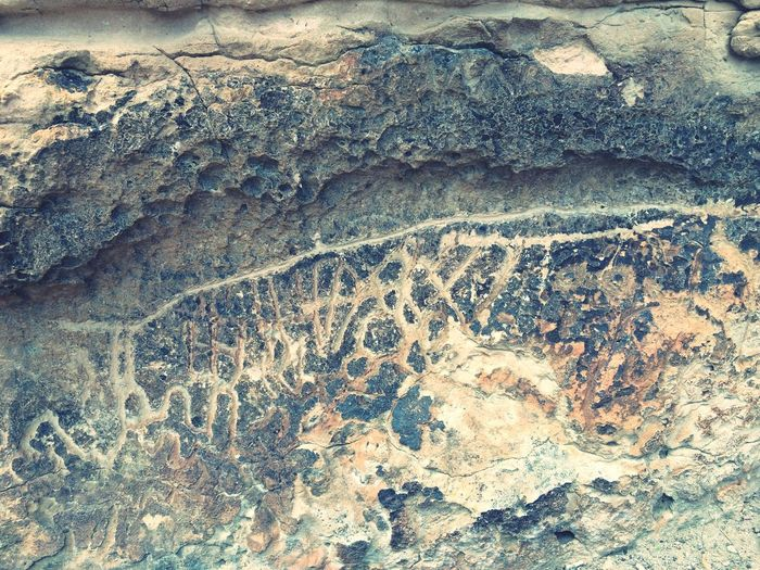 Petroglyphs Hickson History Nevada Desert