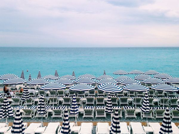 Beach Umbrella Rows Of Things Things Organized Neatly Market Bestsellers September 2016 Bestsellers