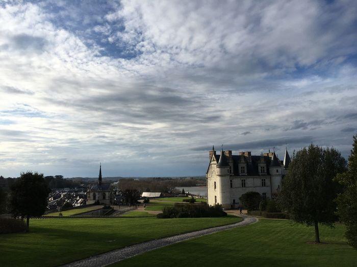 Amboise Castle 16th Century France Garden Renaissance Architecture History Built Structure Building Exterior Sky Cloud - Sky Castle