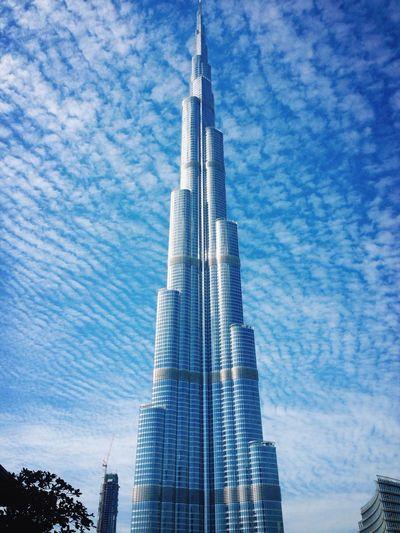 Burj Khalifa... Tallest tower in the world!