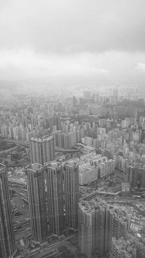 Architecture No People Sky100hk Sky100 Hongkongstreet Hongkongcity Hong Kong City Hongkongcollection Hongkonglife Hongkongphotography HongKong High Angle View Urban Skyline Cityscape Skyscraper B&w Street Photography Black And White Hongkong Black&white Fortheloveofblackandwhite Blackandwhite Blackandwhite Photography