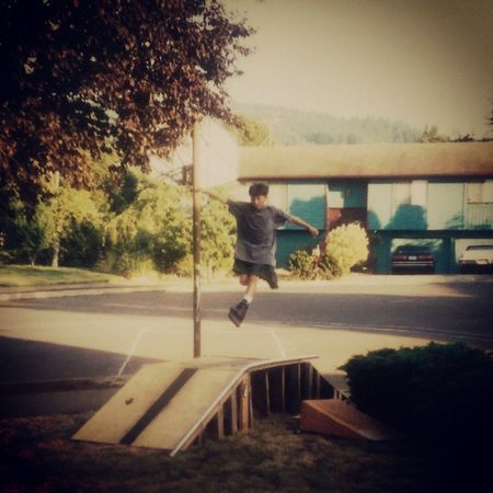 Catching some gnarly air, bro! Airborne Prettyboymaharatio 1993 Blades