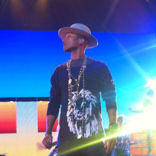 Full length of man standing at music concert
