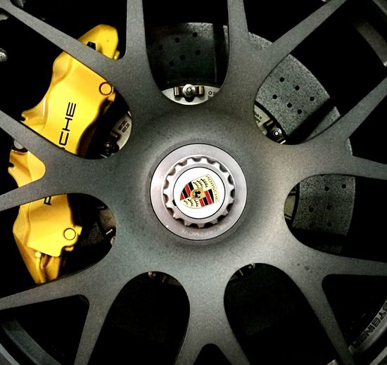 Close-up Porsche Brakes Caliper Brake Disc Disc Yellow Car Fast Car Sportscar Rim Wheel Porsche 911 Porsch Focus Object Focused Design Pattern Keep It Simple Simple Photography No People Stunning Car Logo Rotor Beautiful Special