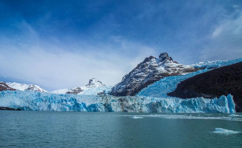 Scenic View Of Perito-Moreno Glacier
