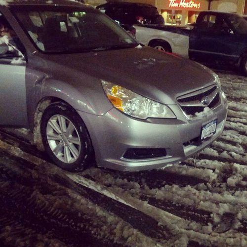 Crushing winter Subaru Subaruofamerica Legacy