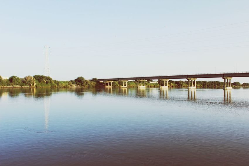 Landscape Taking Photos Photography Nile Bridge Sudan Nature The Great Outdoors - 2015 EyeEm Awards Water Reflections