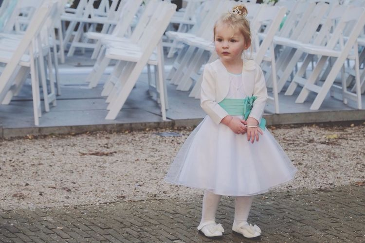 Weddings Around The World Bridesmaid Chairs Girl Netherlands The Netherlands Pastel Power