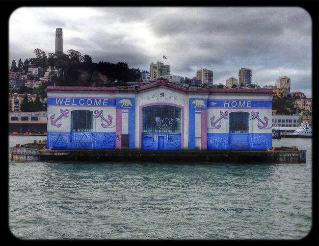 Fishing Pier in San Francisco by Popckorn