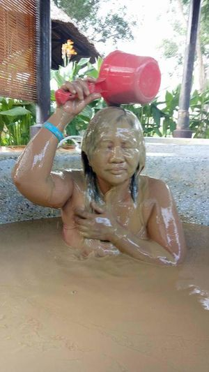 Mui Ne, Vietnam Mud Muddy Mud Bath One Person Fun One Girl Only Enjoyment Skin Care Summer Sommergefühle EyeEm Selects Sommergefühle