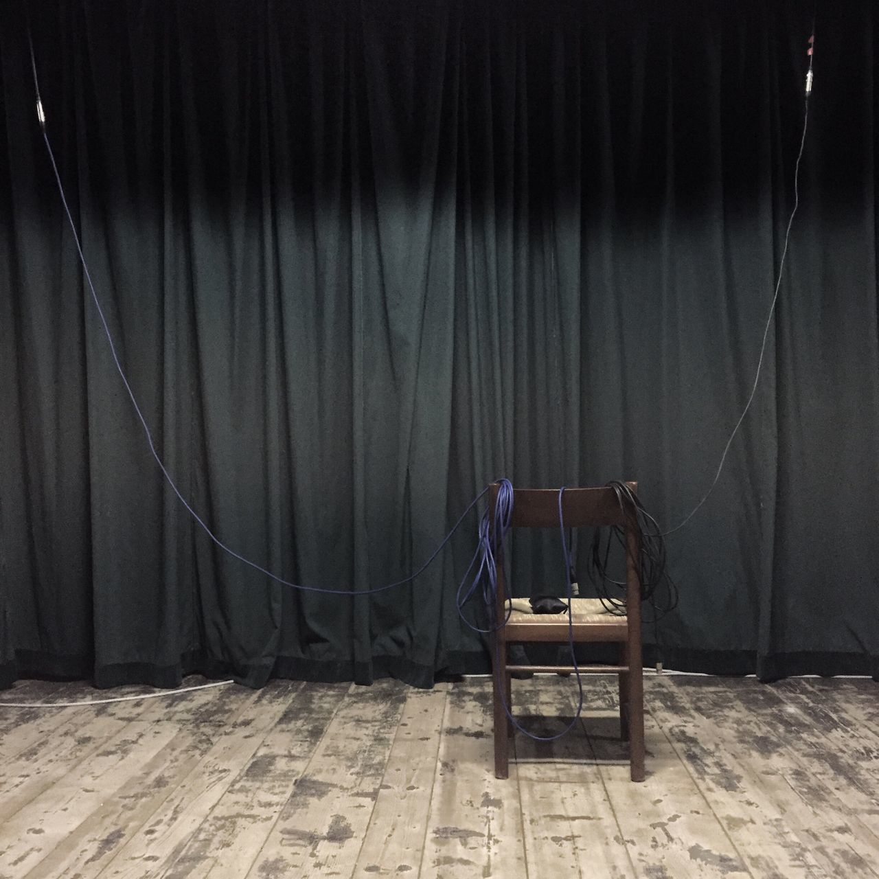 curtain, indoors, stage - performance space, no people, day, film industry