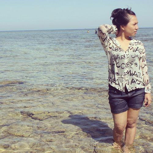 Makassar Sulawesiselatan Beach Relaxing INDONESIA Blue Enjoying Life Samalona