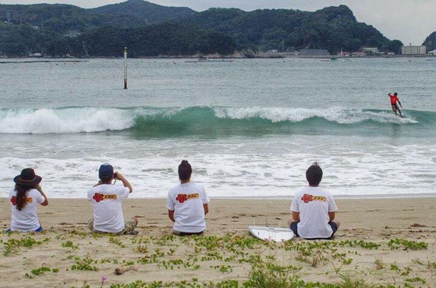 Team soulsurfingcrew SSC Tshirt On The Beach Aloha