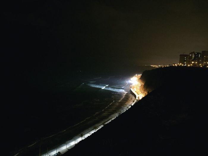 Nightphotography Surf Costa Verde Lima Perú Feel Free