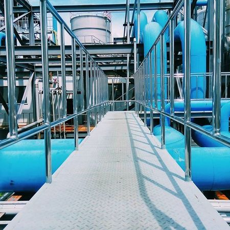 Everyday is a learning day. No smooth sea made a skilful sailor. Cjway Cjbiomalaysia Chemicalplant Engineering Plant L-methionine Stainless Steel  Handrail