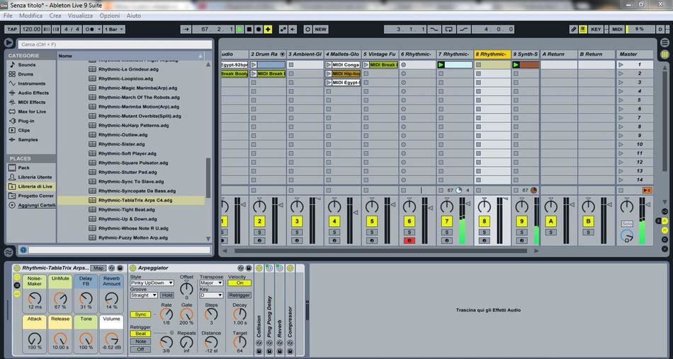 making Music . Ableton live 9. Berlin sounds never passed out