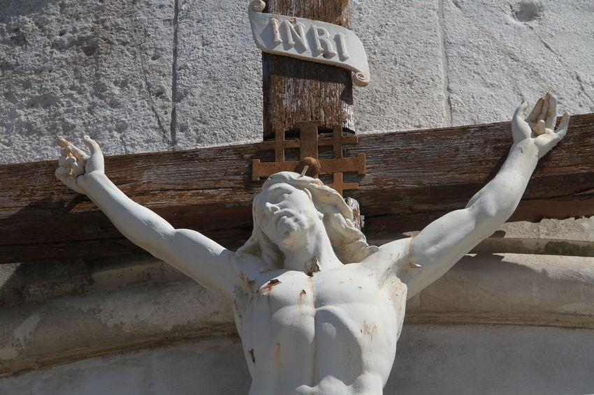 Jesus Christ Jesus Loves You INRI Religion Religious Art Religious