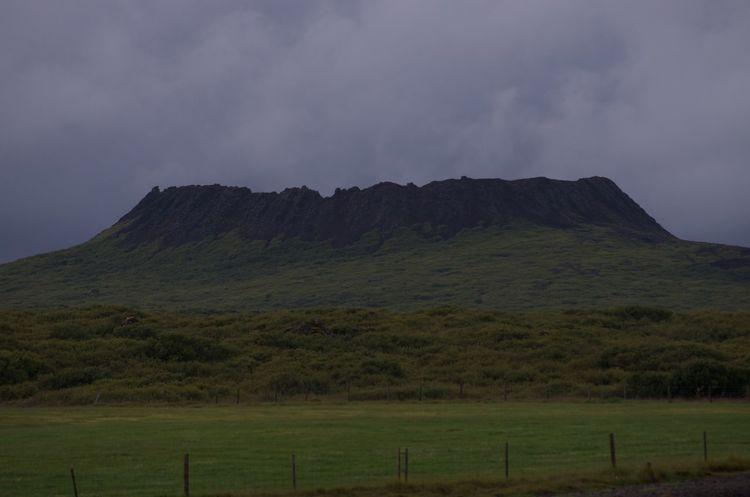 Eldborg Iceland Volcanic Crater