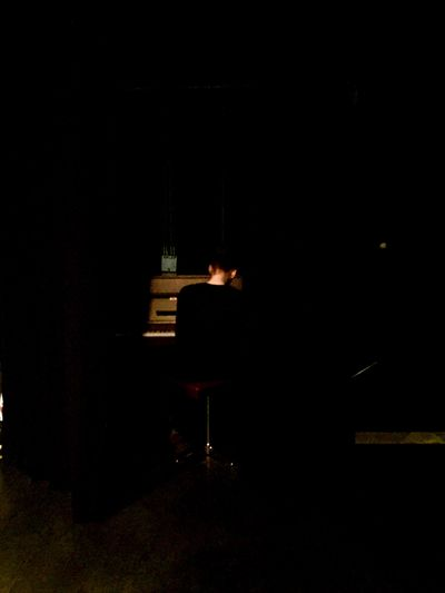 Piano Moments «Young pianist in a lost place» Model: Gaia Melideo