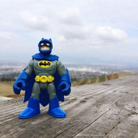 Batman made it to the top :) Hiking Nike Hill Scenery Shots Batman