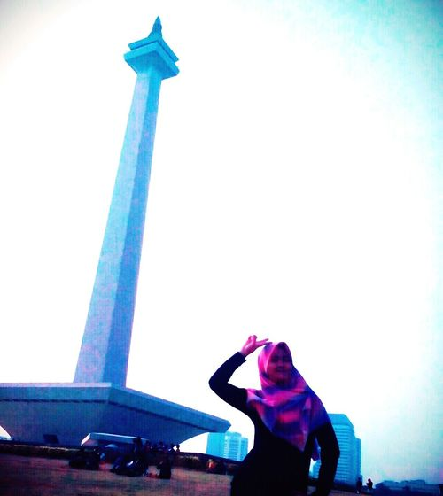 Central of jakarta is monas.. only in Indonesia